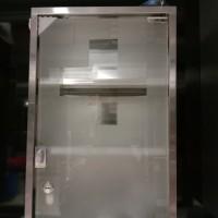 Kotak P3K Stainless Kaca Krisbow