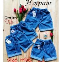 Celana Pendek Anak Hotpants Jeans Tali