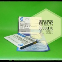 Baterai Double IC Protection Advan S5E S5E Pro Original LF