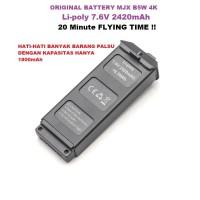 Original Battery MJX B5W 4K Drone Li-Poly 7.6V 2420mAh