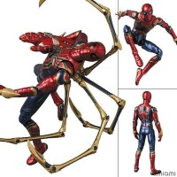 MAFEX No 121 MAFEX IRON SPIDER END GAME AVENGERS VER PO Action Figure