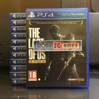 The Last Of us Remastered BD Game Original PS4
