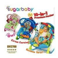 Klarap Sugar Baby 10 in 1 Bouncer Premium Extra Large