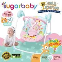 Klarap Sugar Baby Gold Edition Premium Swing Bouncer