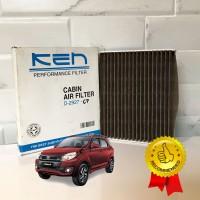 Filter AC Toyota Rush 2006 - 2017 Deodorizer Brown PREMIUM