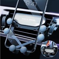 Phone Holder GPS Air Vent Gravity Car Dudukan Mount Handphone AC Mobil