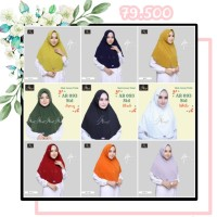 Hijab Arrafi AR 093 Std Jilbab Instan. Serut Ar Rafi Bergo Kerudung