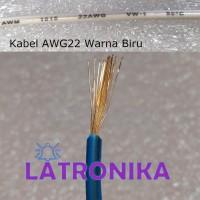 Kabel AWG22 Biru Per Meter 22AWG Cable Kabel AWG 22 AWG Per M