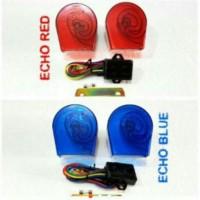 Promo Tahun Baru Klakson Keong Telolet Echo 18/22 Suara Isi 2 12Volt