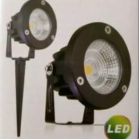 Kingled Lampu Sorot Taman Tancap LED 5W 220V White dan Warm White