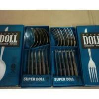 PROMO TAHUN BARU SUPER DOLL - Sendok Makan atau Garpu Makan