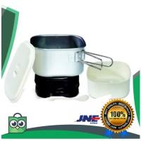 terlaris Electric Travel Multi Cooker (1 Liter) + Travel Bag Maspion
