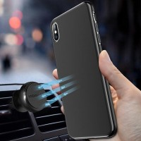O Ultra Thin Magnetic Car Phone Case for iPhone X 6 6s 7 8 Plus 11