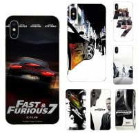 B Fast And Furious Moive 7 For Apple iPhone 4 4S 5 5C 5S SE 6 6S 7 8