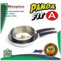 diskon Maspion Panda Fit A Panci Milk Pan Set Sauce Pan 16cm &