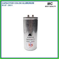 Kapasitor (capacitor) Ac 50 Uf Aluminium V (spare 250 -