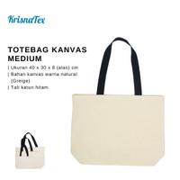 Totebag Kanvas Medium ( Tas Belanja Canvas Cotton)
