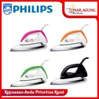 Philips HD 1173 Setrika - Hitam & Pink - Hitam