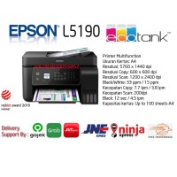 PRINTER EPSON L5190 ALL IN ONE WIFI INFUS SYSTEM