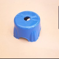 BANGKU BULAT/ KURSI ( BULAT ) PLASTIK KAKI PENDEK SERBAGUNA WARNA ACAK