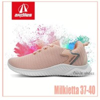 Fanie Shoes - NEW Ardiles Milkietta 37-40 Peach / Sneakers Wanita