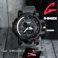 G Shock GWG-1000 Tali Grey Abu Abu Army Jam tangan pria digital skmei