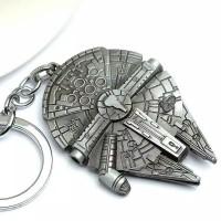Gantungan kunci bentuk space ship/gantungan kunci pesawat