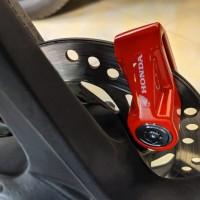 Kunci Gembok Disc Piringan Cakram Motor Original Aksesoris Honda