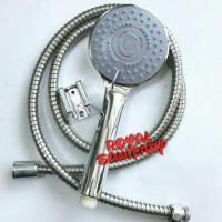 Hand shower Set Gede 5fungsi-Hand Shower set 5in1 semprotan mandi Mura