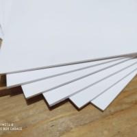 TERMURAH PVC FOAM BOARD UKURAN 3 MM UNTUK DIORAMA HOTWHEELS