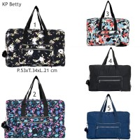 tas kipling betty foldaway travel bag 2fungsi