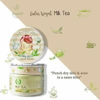 Natural Green Botanica Treatment Lulur Wajah Milk Tea - 120 gr