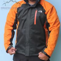 Jaket outdoor gunung trekking hiking jack wolfskin jws waterproof wind