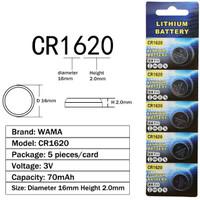 Baterai Batere Kancing / Button Cell CR1620 BR1620 DL1620