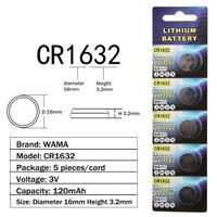 Baterai Batere Kancing / Button Cell CR1632 LM1632 BR1632 ECR1632