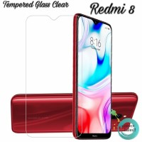 Tempered Glass Clear Redmi 8 Anti Gores Layar Bening Redmi 8
