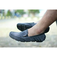Sepatu Slop Pria Casual Formal Adidas Dembelle Slip On Original Suede