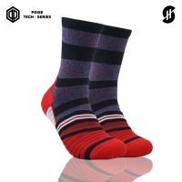 Stayhoops - Kaos Kaki Olahraga - Kenio Ruby Poise Tech Socks