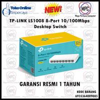 Tp-Link Tplink LS1008 Lite Wife 8-Port 10/100Mbps Desktop Switch