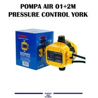 POMPA AIR OTOMATIS 01+2M -- PRESSURE CONTROL YORK YRK-01
