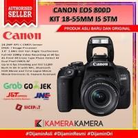CANON EOS 800D KIT 18-55MM IS STM - Garansi 1 Tahun