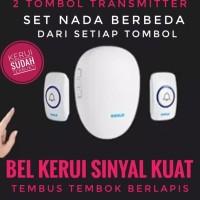 KERUI M521 Wireless Bel Rumah Kantor Multi Tone Bel Pintu Doorbell