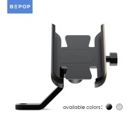 Bepop Sepeda Motor Phone Holder Universal Spion - Hitam