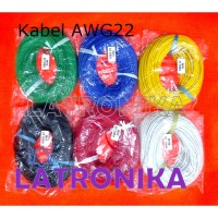 Kabel AWG22 Premium Per Roll 50m 22AWG Cable Kabel AWG 22 AWG 50 m
