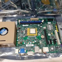 Mainboard H61 Paket Processor Core i5 dan Cooler intel