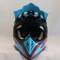 HELM JPX CROOS FULL FECE MOTIF X21 SUPER BLACK