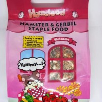 HOT SALE Hamsfood Hamster & Gerbil Staple Food 1000gr - Makanan