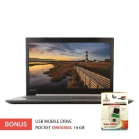 77,76,Laptop Murah Lenovo Ideapad 330-15IGM - Intel N4000 - RAM 4GB -