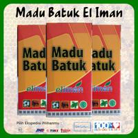 3 Botol Madu Batuk El Iman 100 % Original