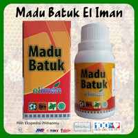 1 Botol Madu Batuk El Iman 100% Original